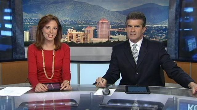 Doug, Shelly lip-synch the news
