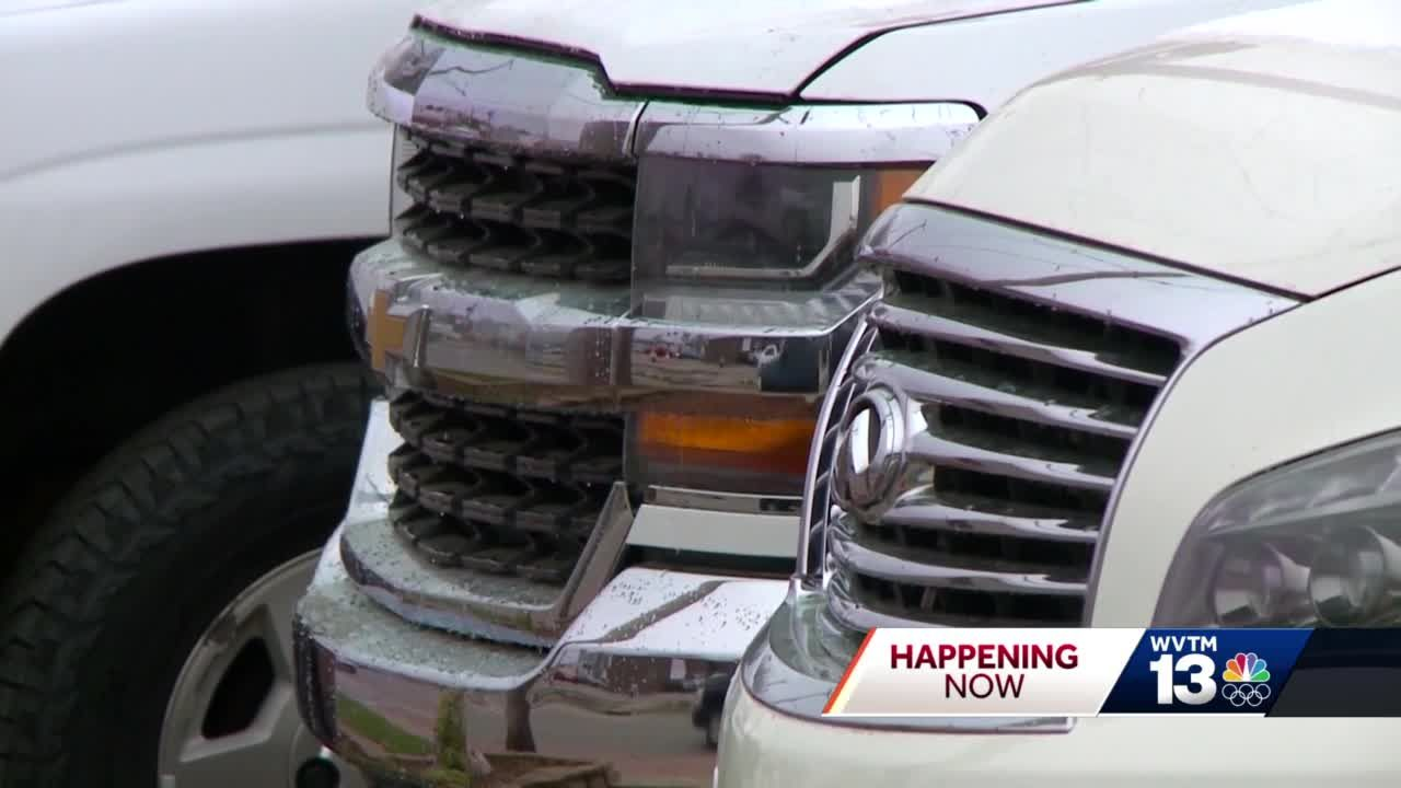 Oneonta police need help catching car dealership thieves.