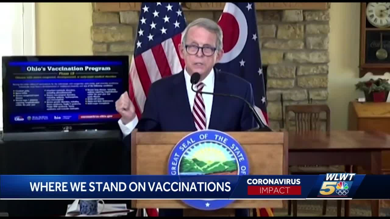 Comparing Ohio, Kentucky and Indiana's vaccine rollouts to other states