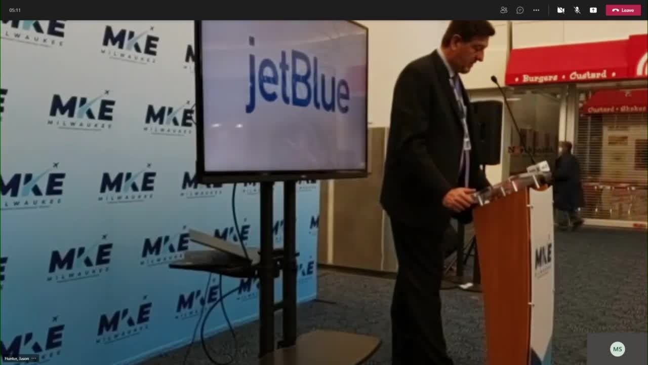 jetBlue announces service from MKE