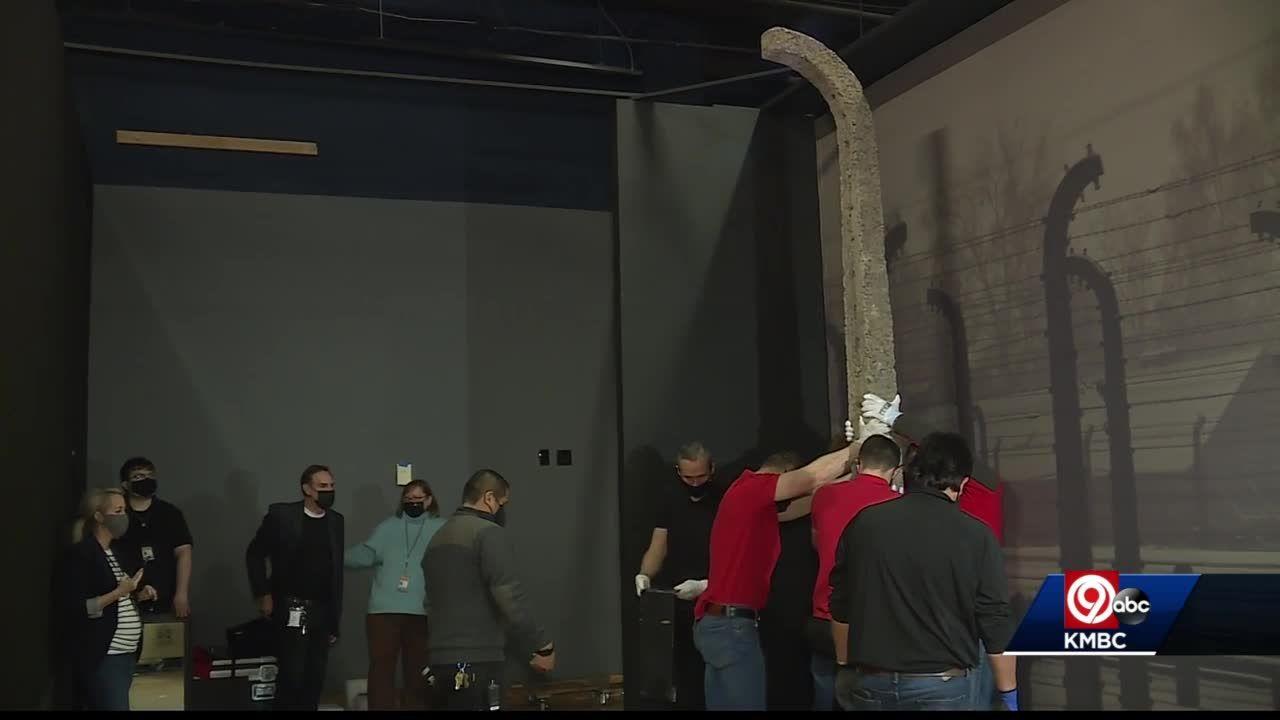 First artifact from Auschwitz exhibit installed at Union Station