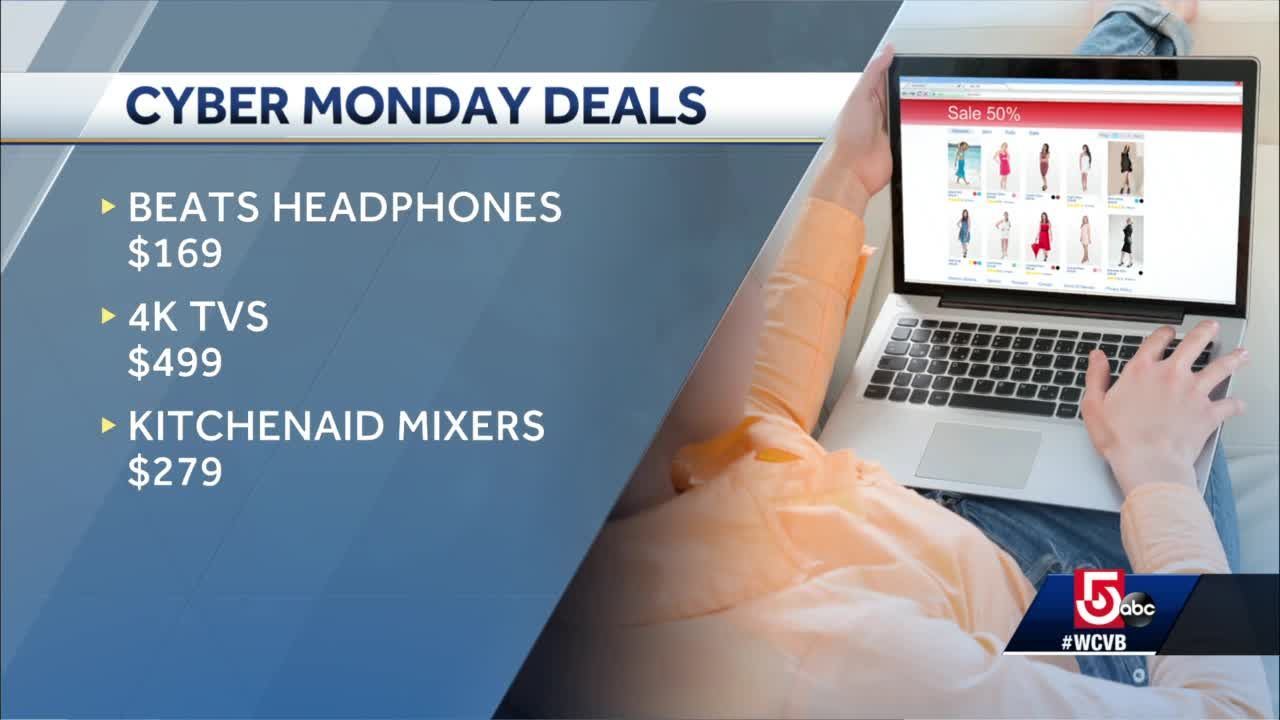 Retailers offer deep discounts on Cyber Monday