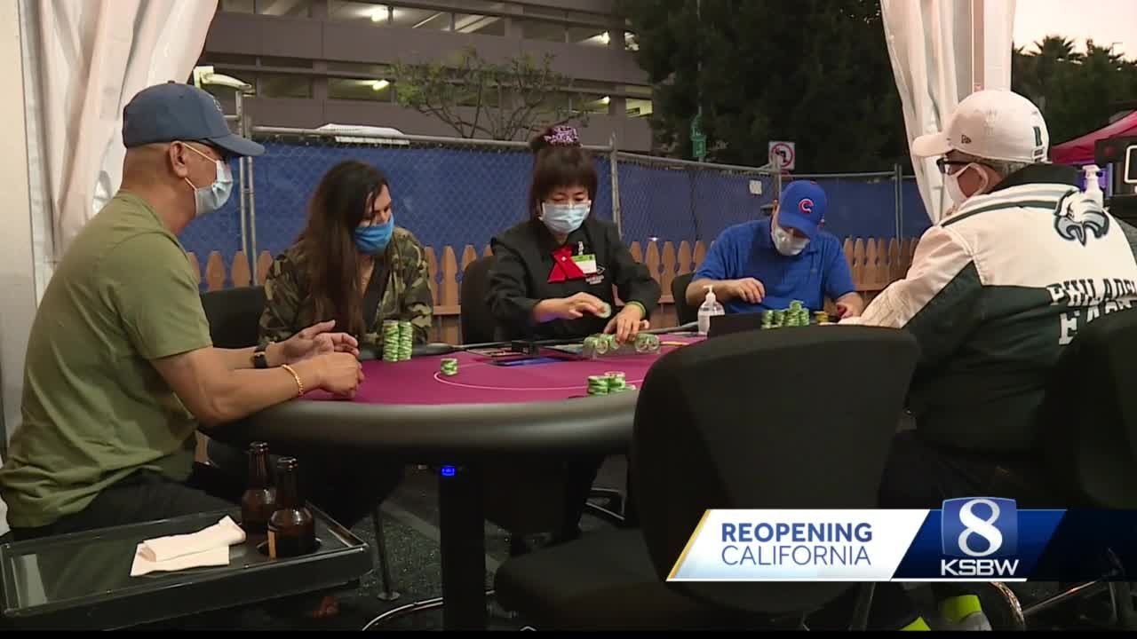 Cardrooms allowed to reopen across California