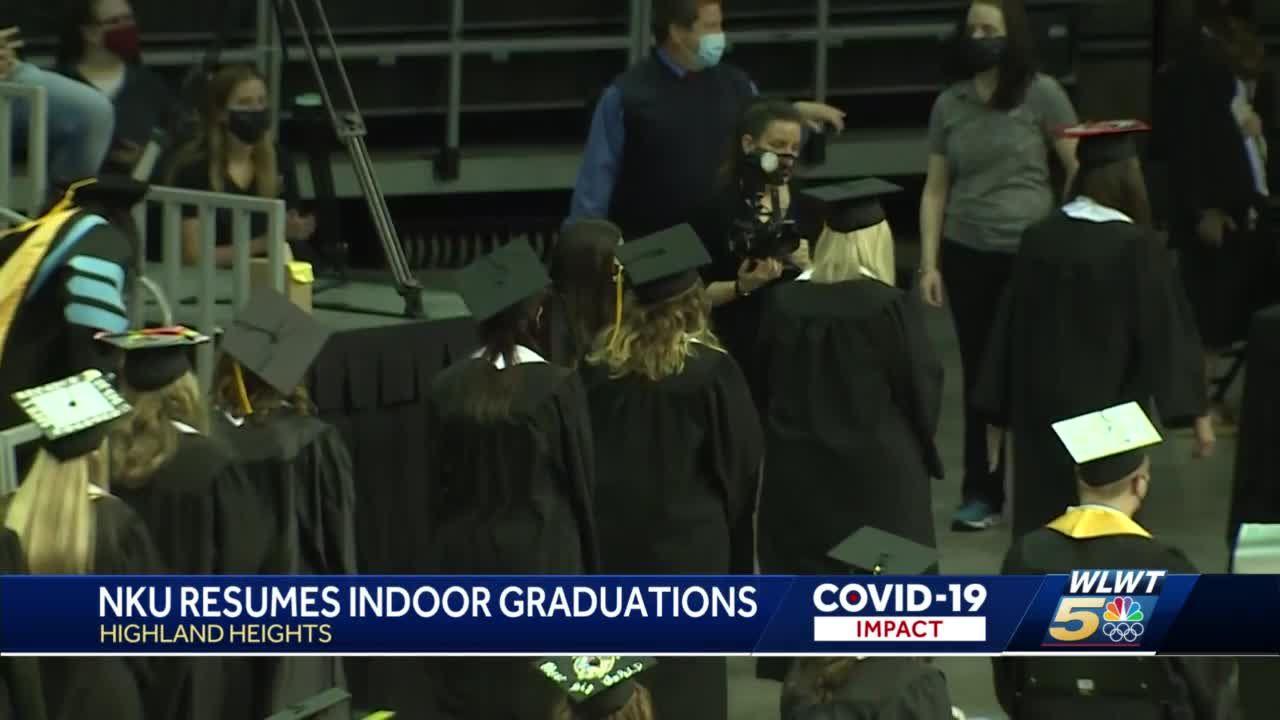 NKU resumes indoor graduations