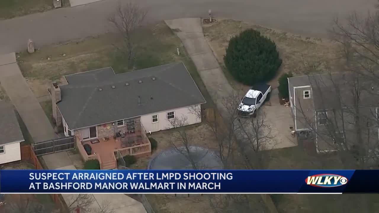 Man shot by LMPD officers after chase, shootout at Walmart pleads not guilty in court
