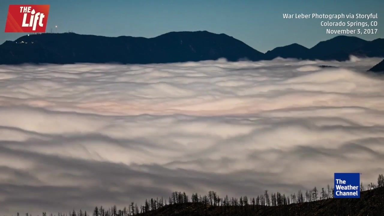 Incredible time lapse video shows ocean of clouds over colorado incredible time lapse video shows ocean of clouds over colorado springs malvernweather Image collections