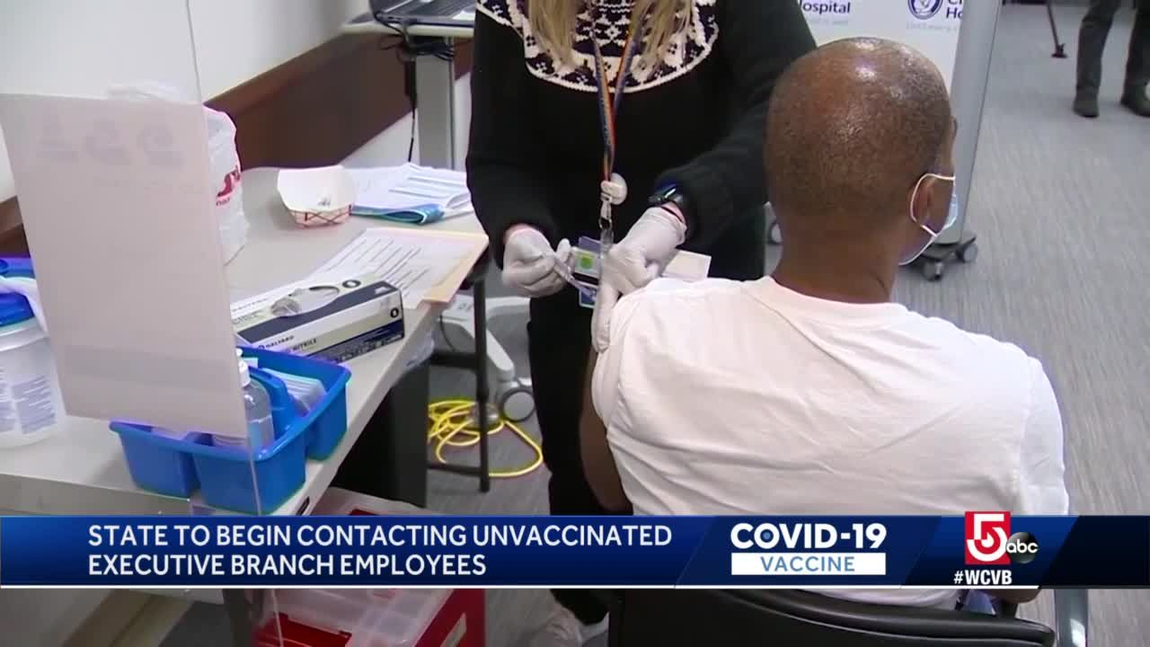 Unvaccinated state workers now face suspensions, termination