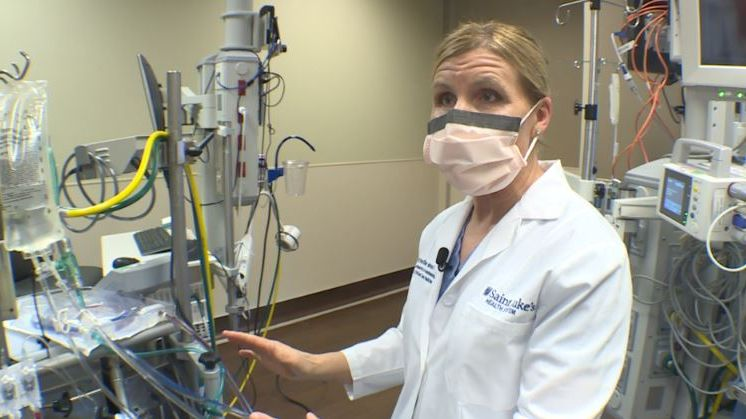 St. Luke's gives exclusive look at life-saving COVID-19 treatment
