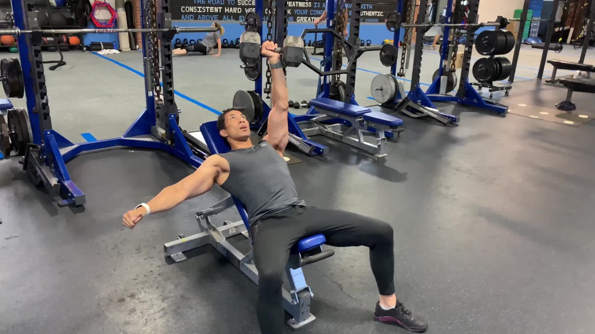 This Explosive Press Will Blow Up Your Chest and Core