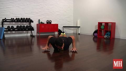 The Best Way to Target Your Pecs during a Pushup