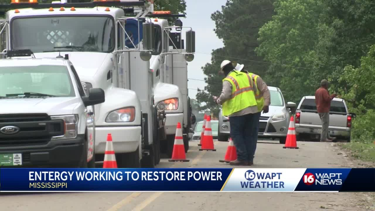 power restoration efforts
