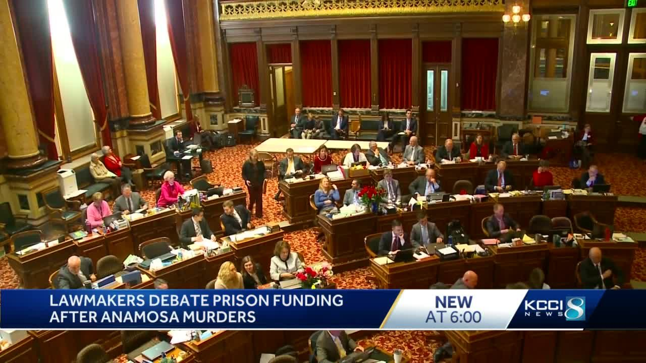Statehouse debates budget for Department of Corrections after recent attacks