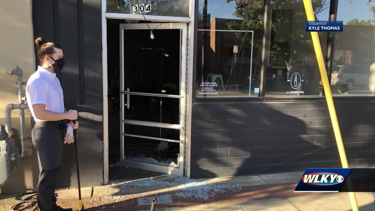 Amid Derby celebration, Louisville business hit with another break-in