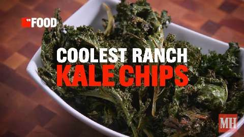 The Homemade Kale Chips That Taste Just Like Cool Ranch Doritos
