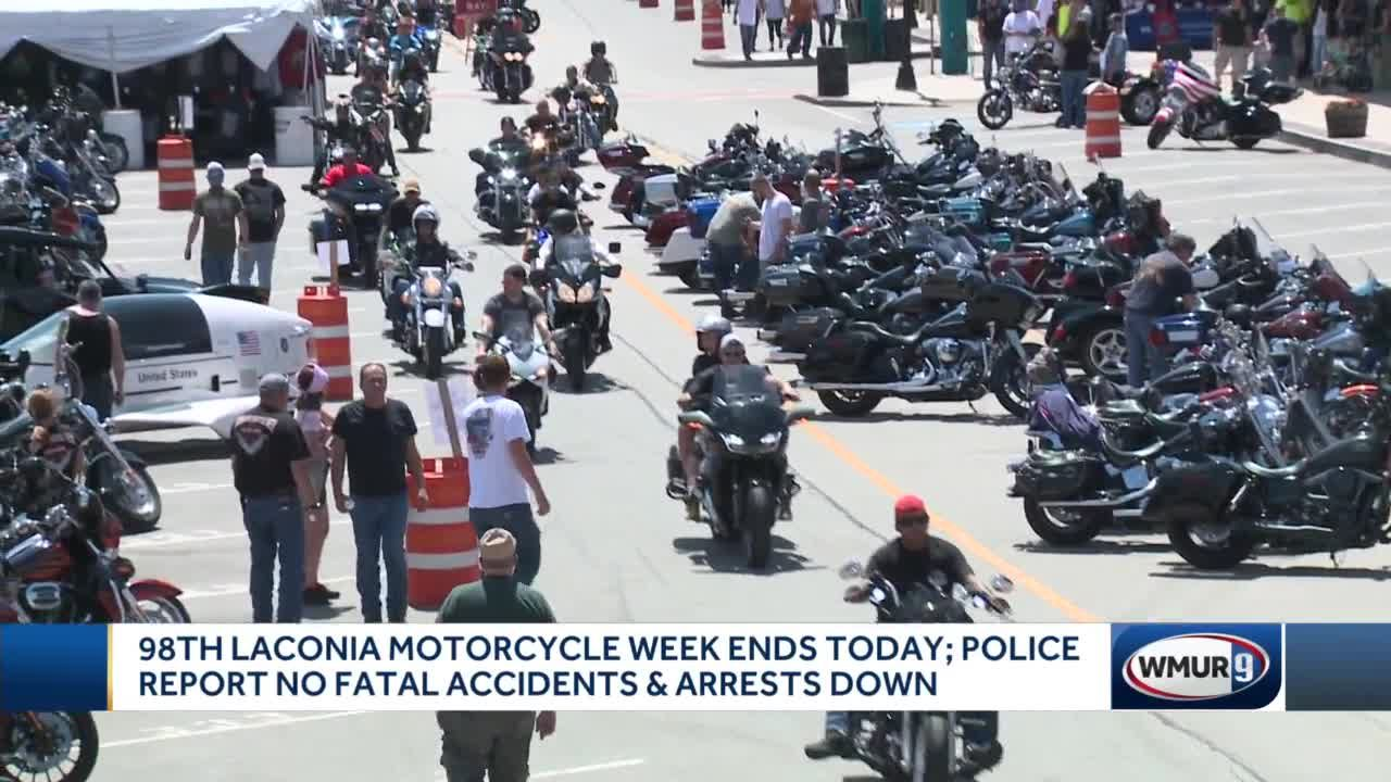 98th Laconia Motorcycle Week ends Sunday