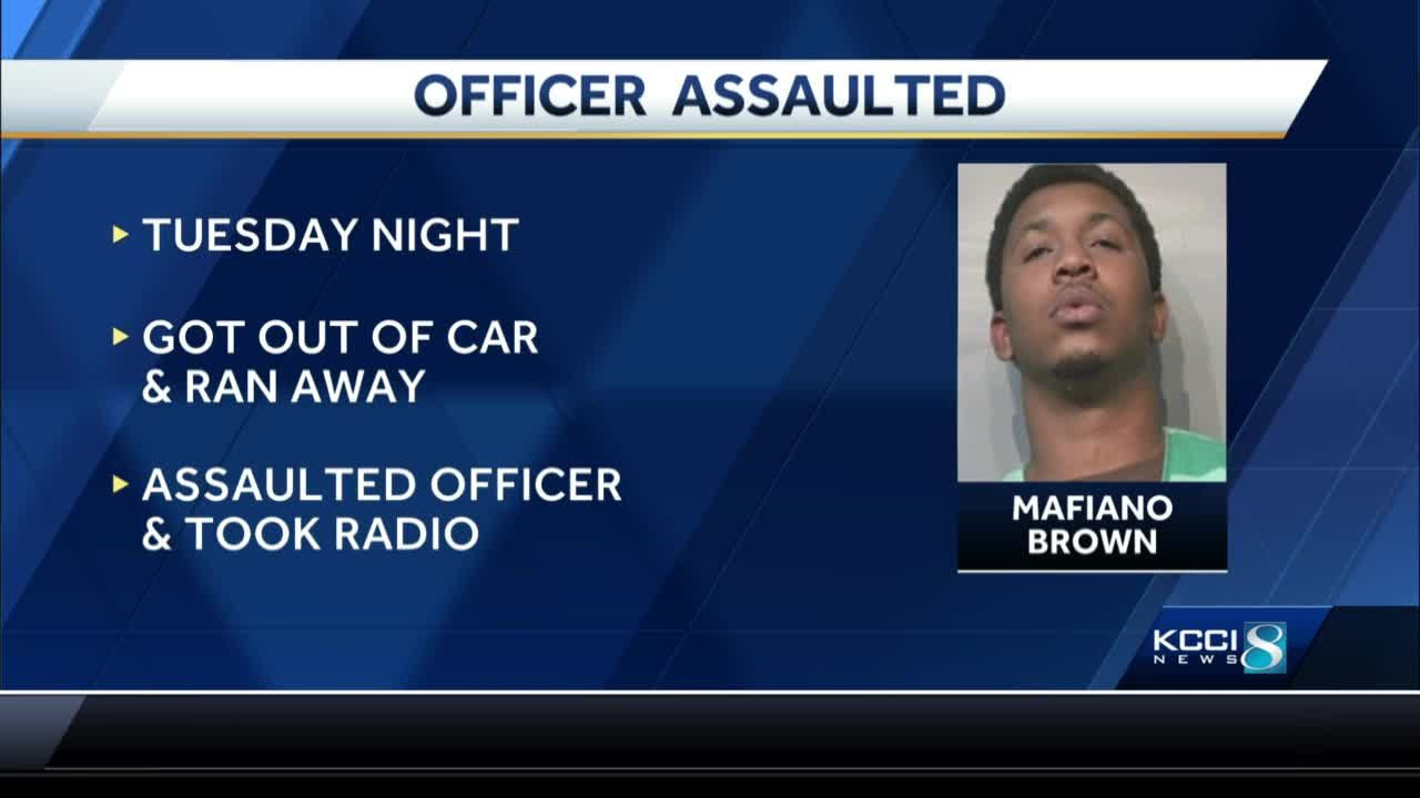 DSM PD: Officer was assaulted during traffic stop