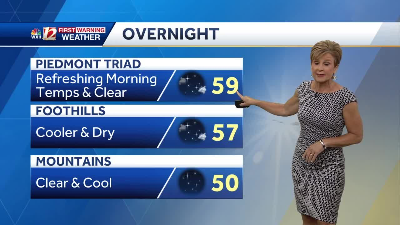 WATCH: Cooler nights, less humid air