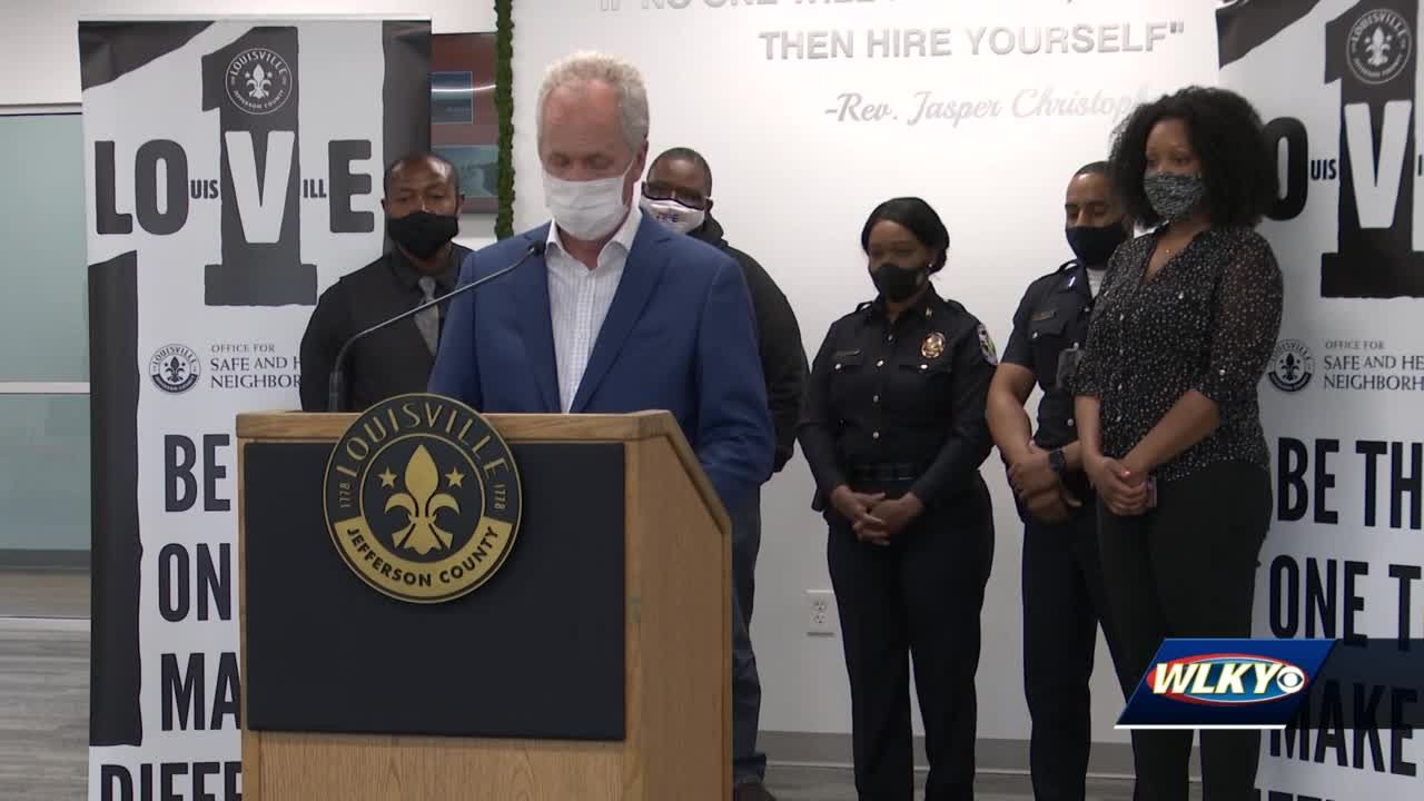 Mayor Fischer kicks off Youth Violence Prevention Week with call to action for Louisvillians