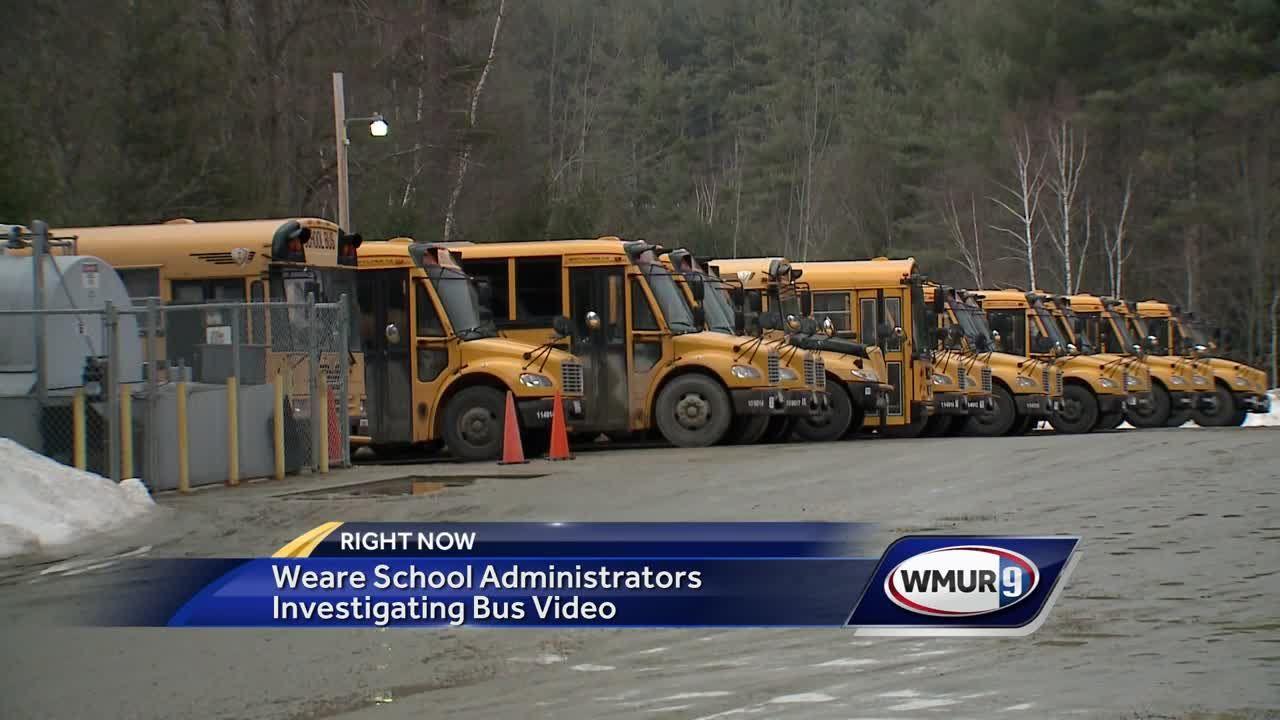 Video shows spat between High School, Elementary School students on Weare  bus