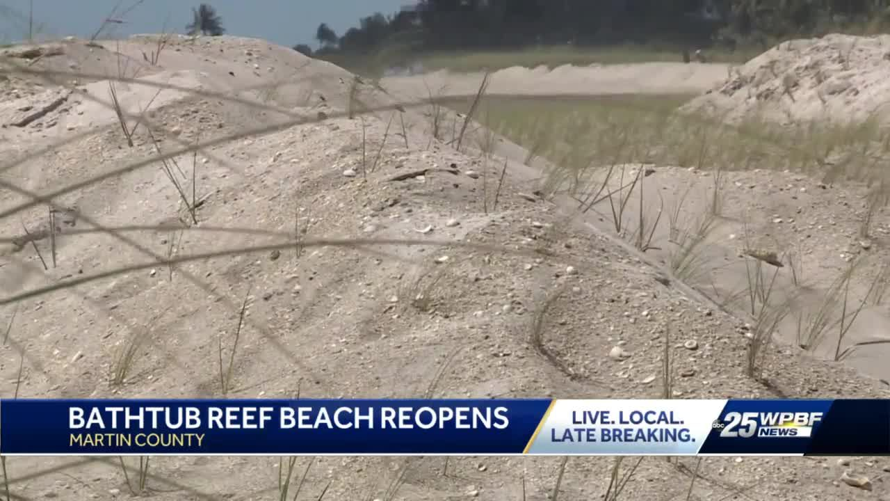 Bathtub Reef Beach Reopened