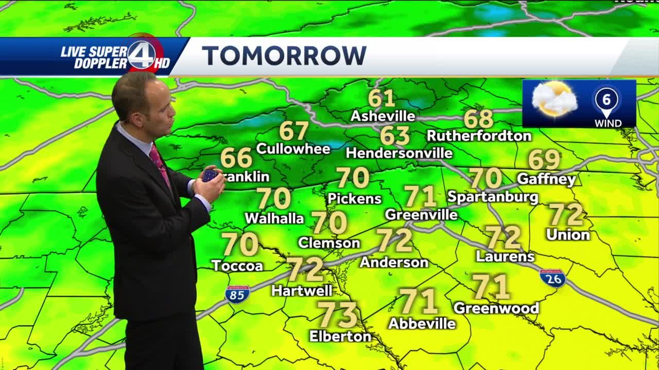 Another chilly night, then sunny skies, warmer temps