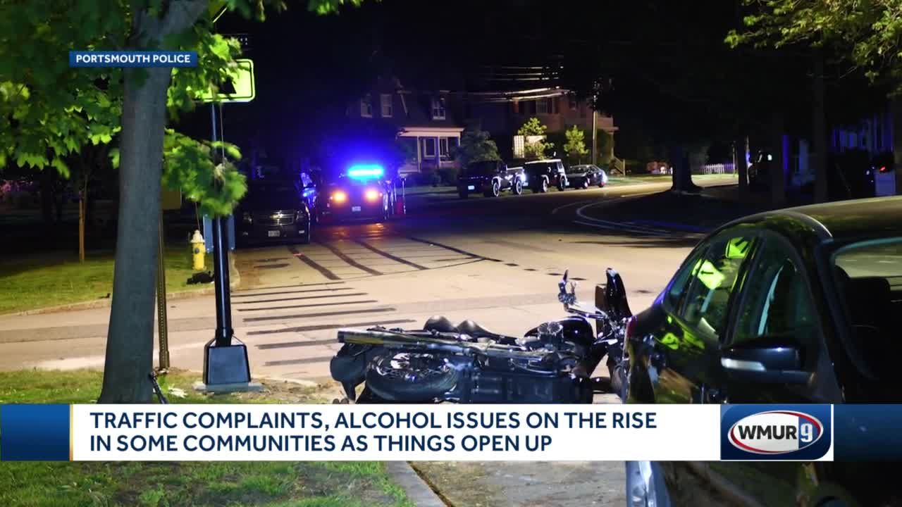 Traffic complaints, alcohol issues on the rise in some communities as things open up