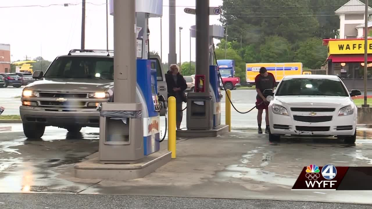 Gas station managers encourage customers not to hoard as pipeline operations resume