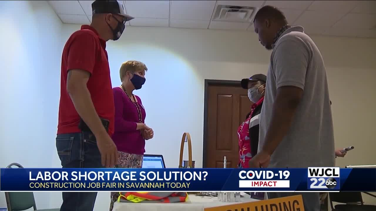 Job fair held in Chatham County to address shortage of construction workers