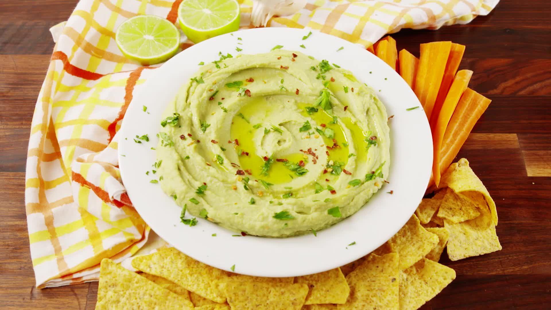 How To Make Crazy-Delicious Avocado Hummus