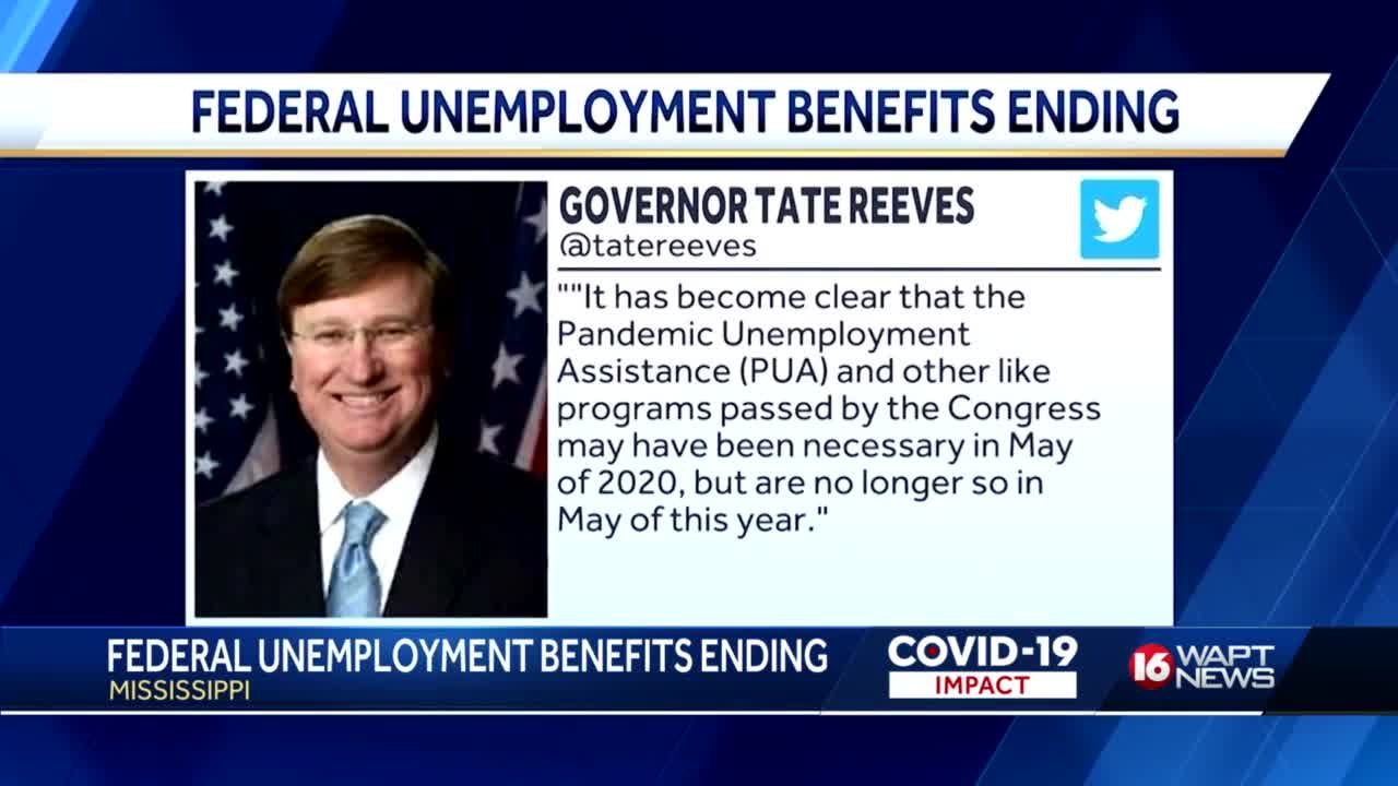 Governor says no to continued federal unemployment benefits