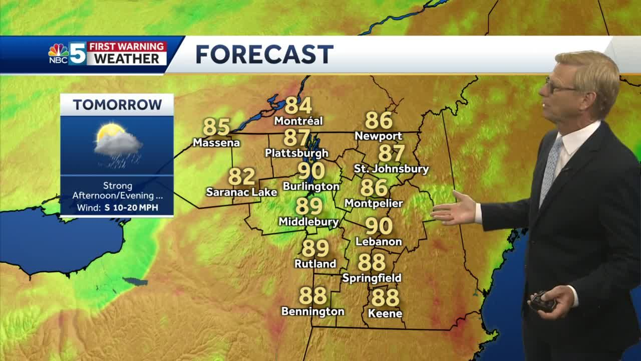 Video: Tom Messner is watching for strong storms Monday. 6.20.21