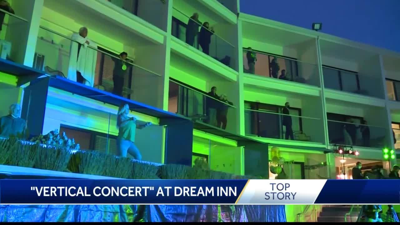 Dream Inn in Santa Cruz hosts Vertical Concert for St. Patrick's Day
