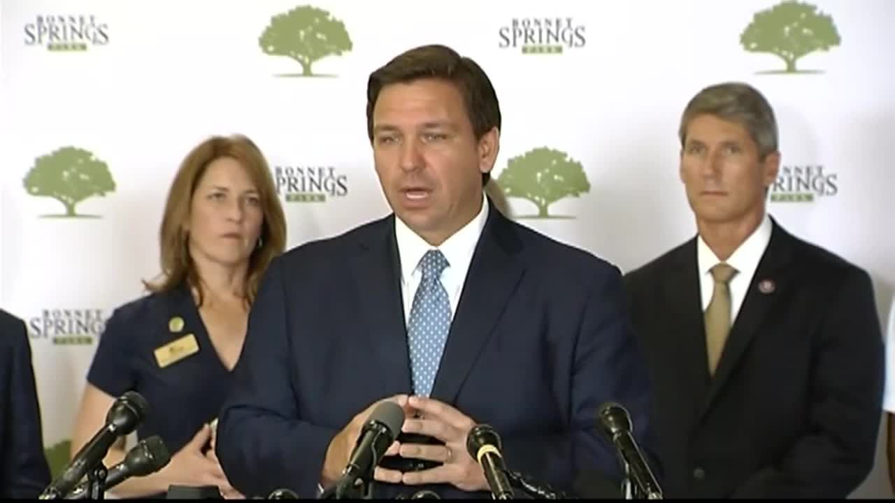 "DeSantis: ""If you get a vaccine ... you're immune. So act immune."""