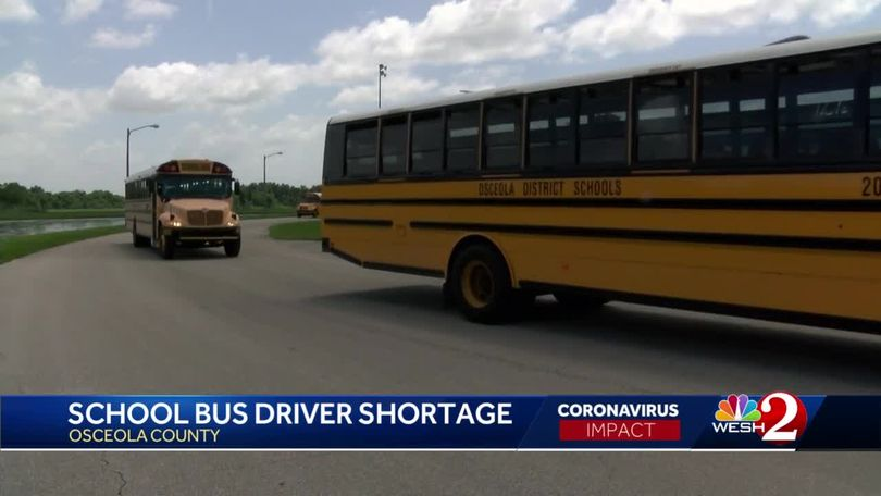 Osceola Schools Looking To Hire About 50 More Bus Drivers