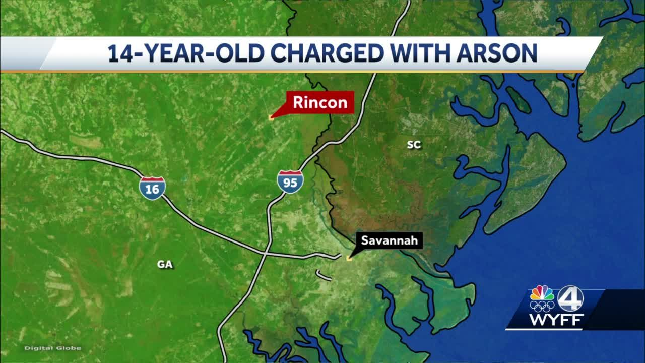 14-year-old charged with arson after fire at Walmart
