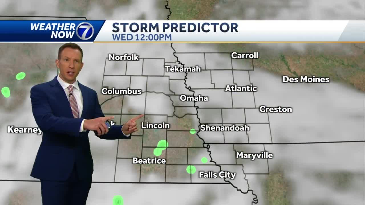 More sun to start Wednesday, clouds are back this afternoon