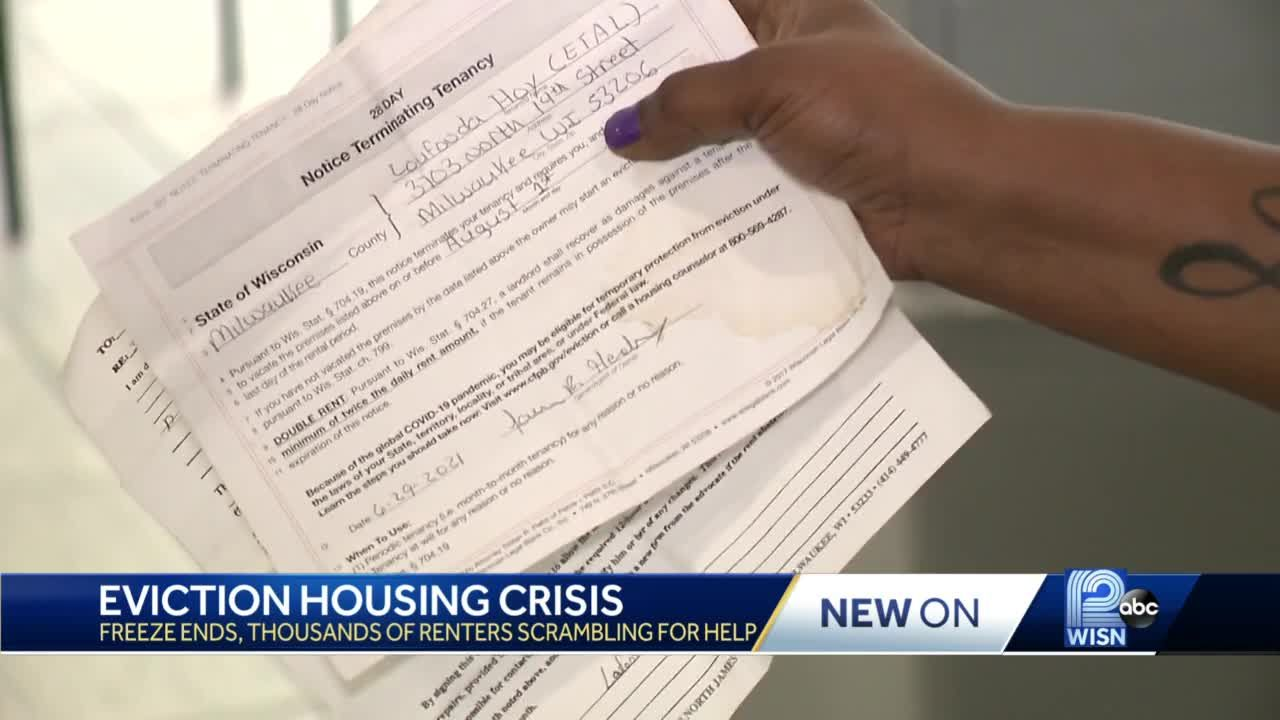 Housing crisis emerges as eviction ban ends