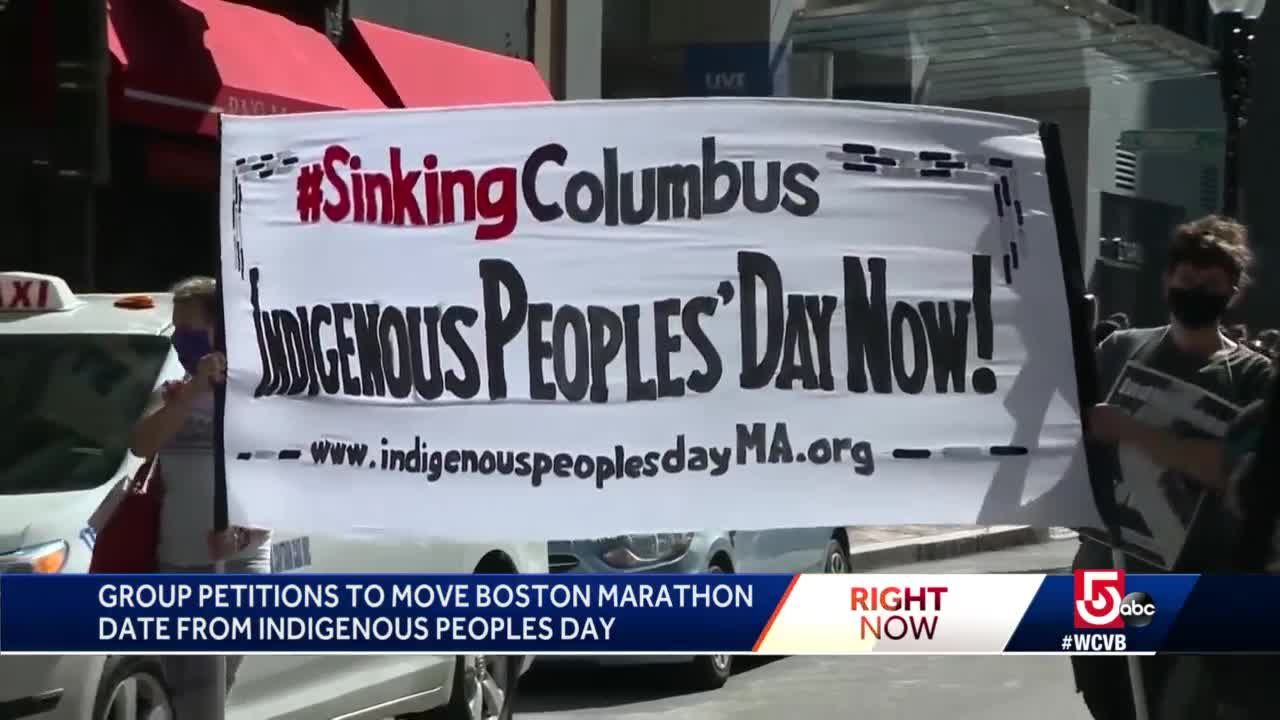Group wants marathon moved from Indigenous Peoples Day
