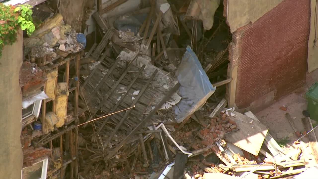 Firefighters called to partial building collapse on McMechen Street