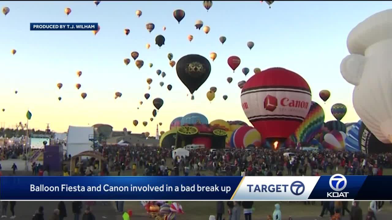 Balloon Fiesta and title sponsor Canon in bad break up