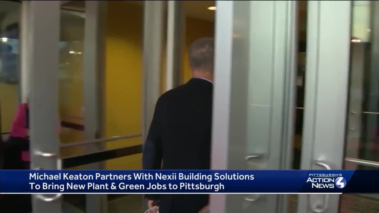 Michael Keaton partners with green construction company to bring new plant to Pittsburgh