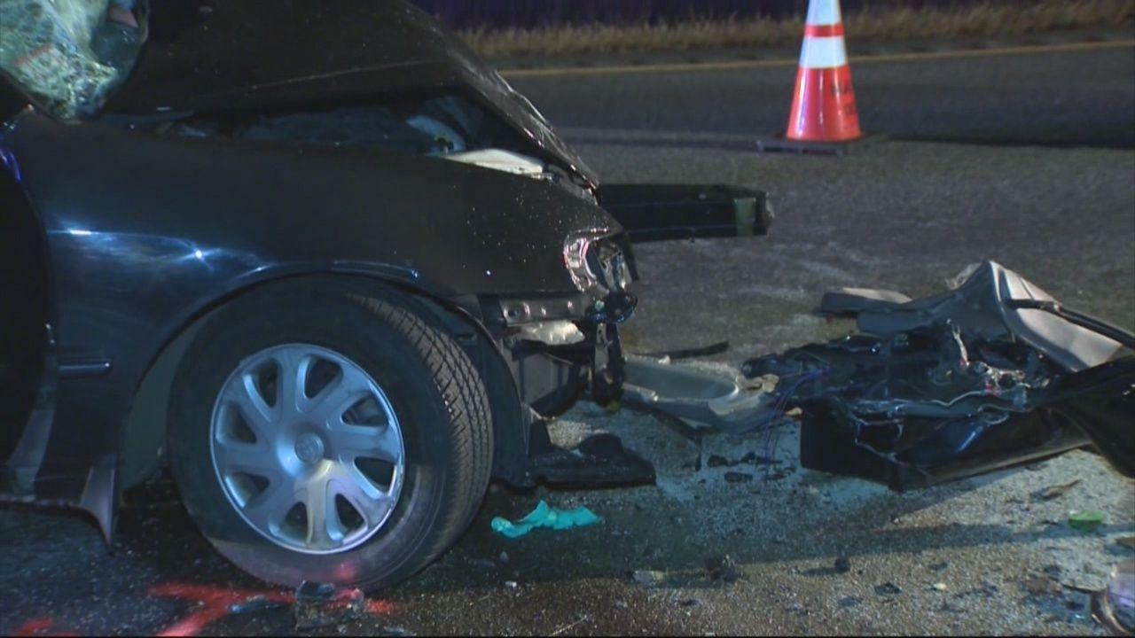 Wrong-way crash kills 1