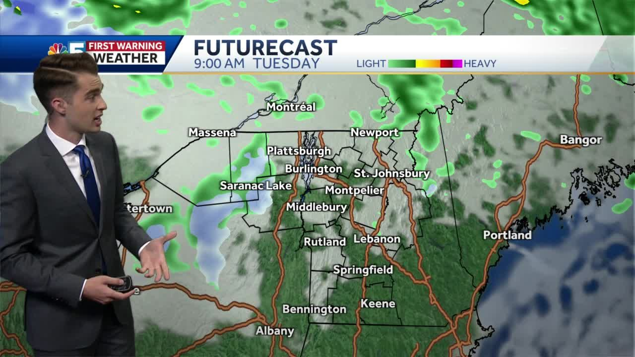 Video: Mostly dry on Mother's Day (5-8-21)