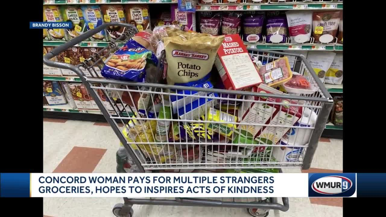 Local woman pays for multiple strangers groceries as random act of kindness
