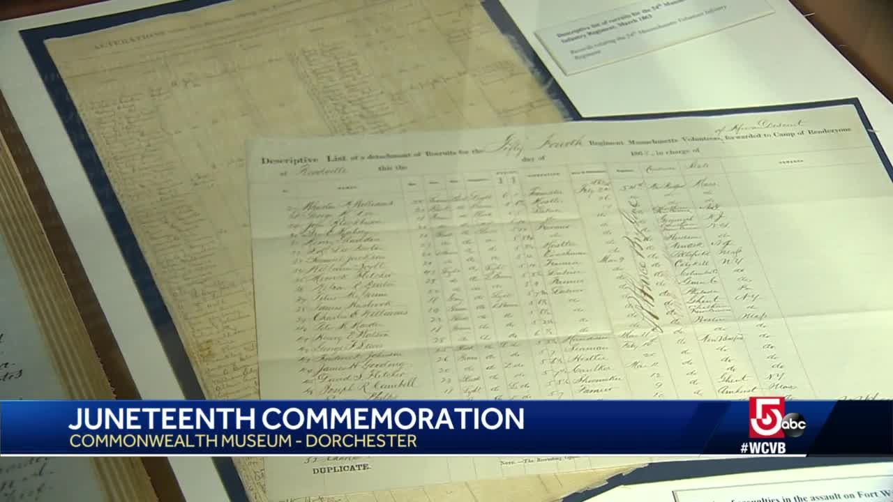 Commonwealth Museum features Juneteenth exhibit with historic documents