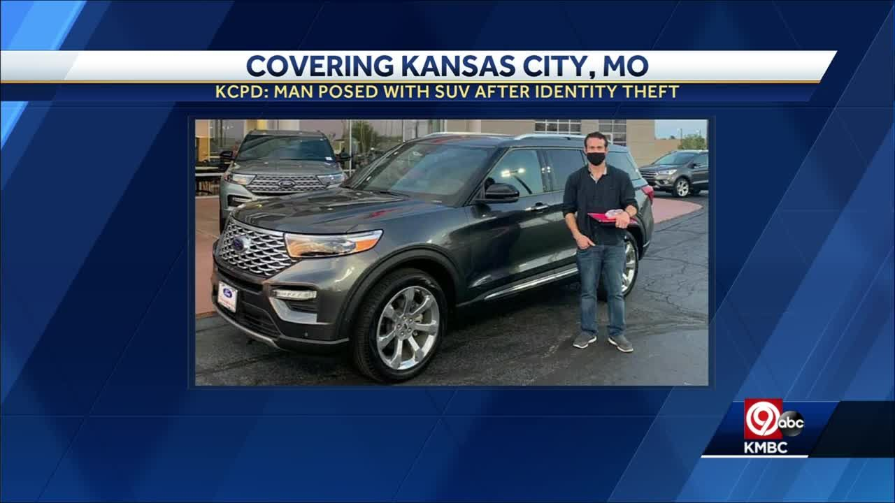 KCPD: Man used stolen ID to purchase a $58k SUV, then posed for a photo