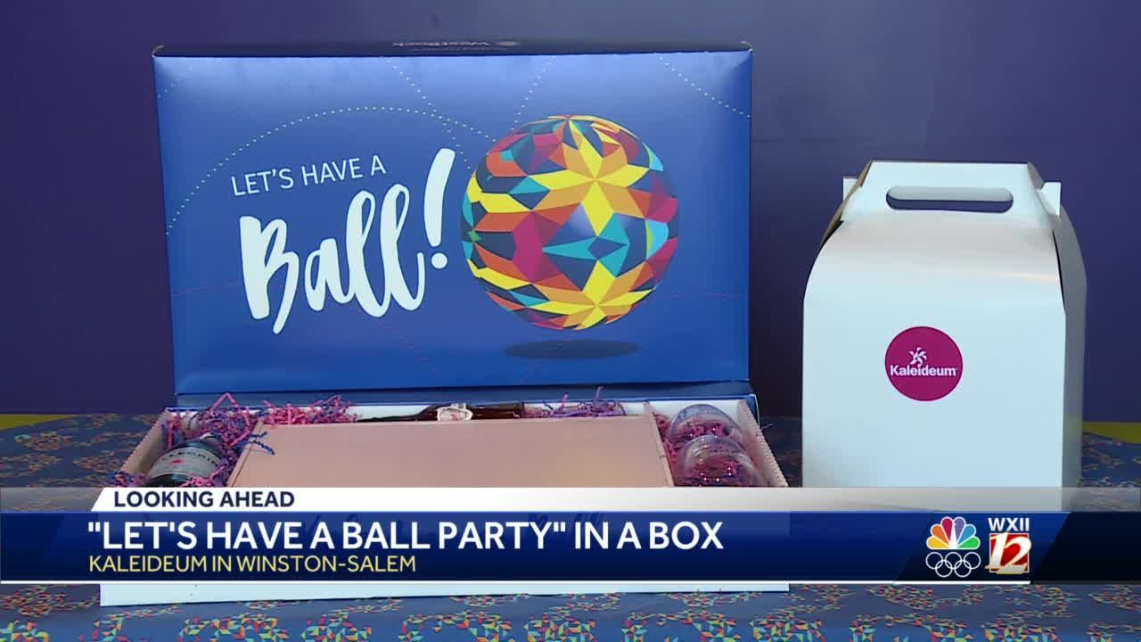Kaleideum offers party in a box in place of kaleidoscope ball
