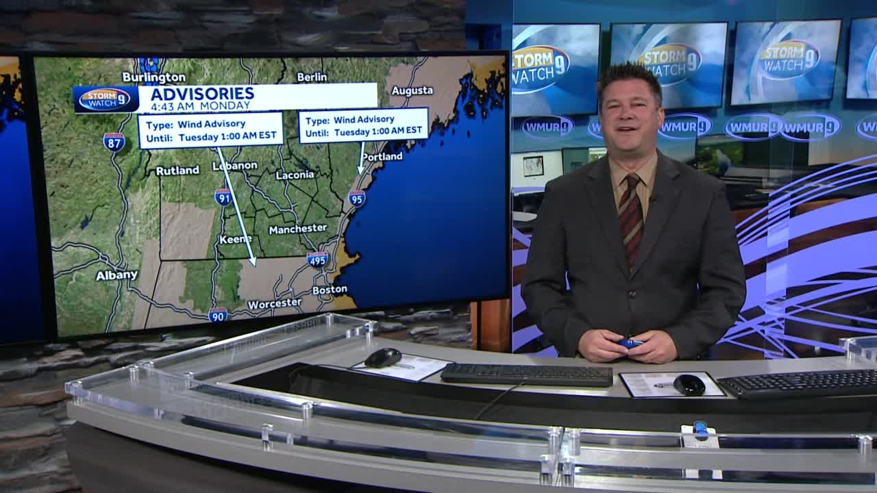 WATCH: Heavy wind and rain through the afternoon