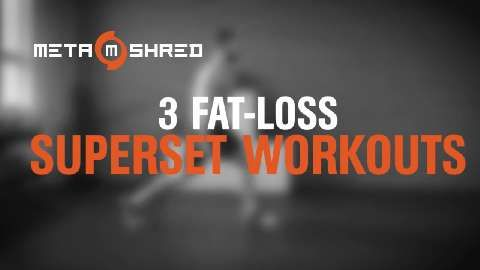 3 Superset Workouts That Will Melt Away the Fat Covering Your Abs