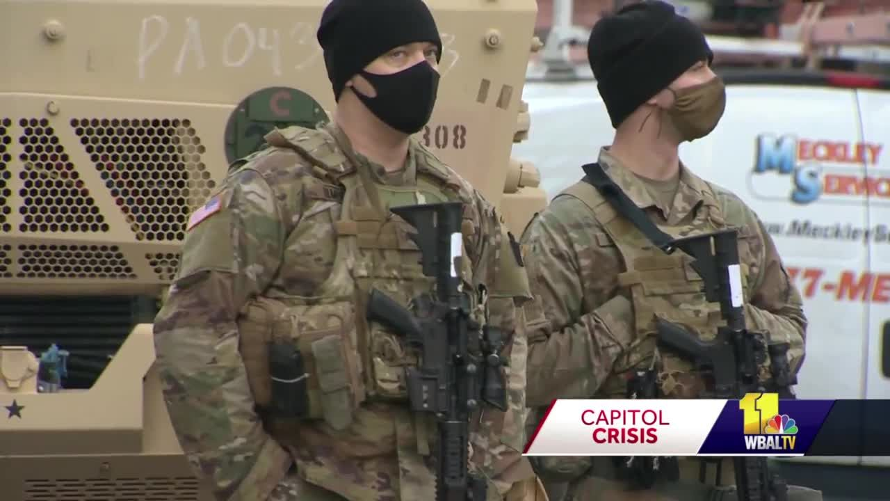 Marylanders play crucial role in DC security for inauguration
